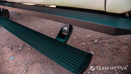 Rear Driverside AMP Research Powerstep Running Board