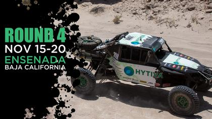 54th Annual SCORE Baja 1000 - Hytiva Header Graphic