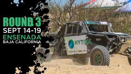 2nd Annual SCORE Baja 400 - Hytiva Header Graphic