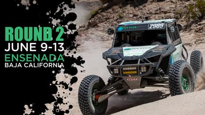 53rd Annual SCORE Baja 500 - Hytiva Header Graphic
