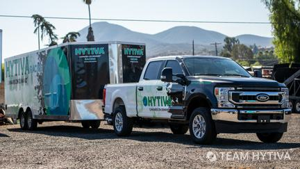 Team Hytiva® Ford F-250 and Trailer