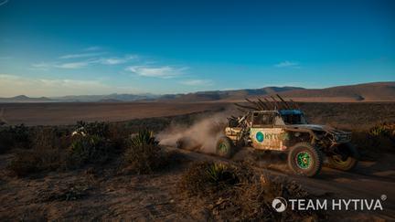 Team Hytiva® Polaris Razor Baja Sunset