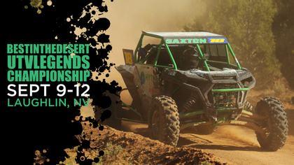 Best In The Desert UTV Legends Championship