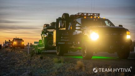 Marc Burnett Ford Chase Truck