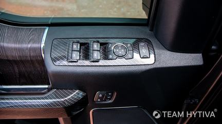 Driver Window and Door Lock Button Controls