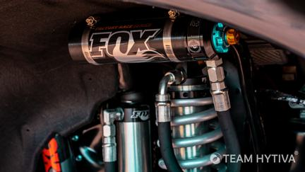 Shelby Adjustable Coilover and FOX Adjustable Reservoir