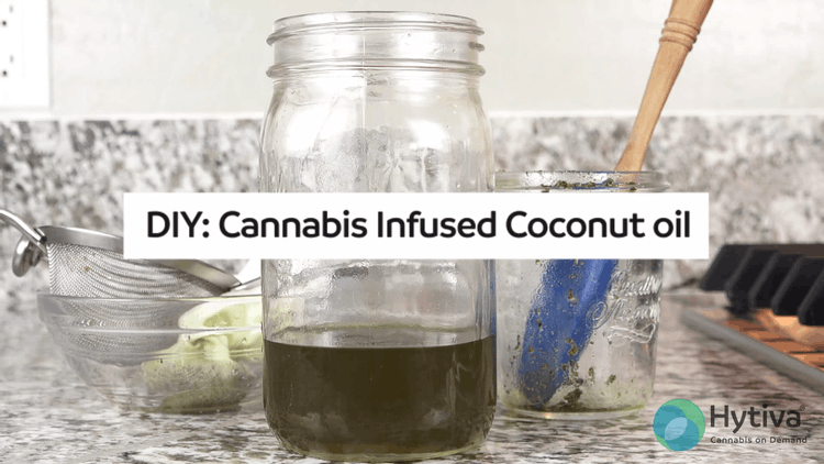 DIY: Cannabis Infused Coconut Oil