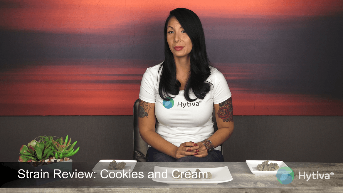 Strain review video: Cookies and Cream