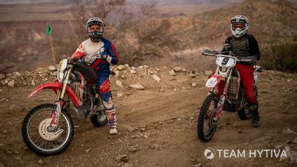 Dirt Bike Riders in Baja Mexico