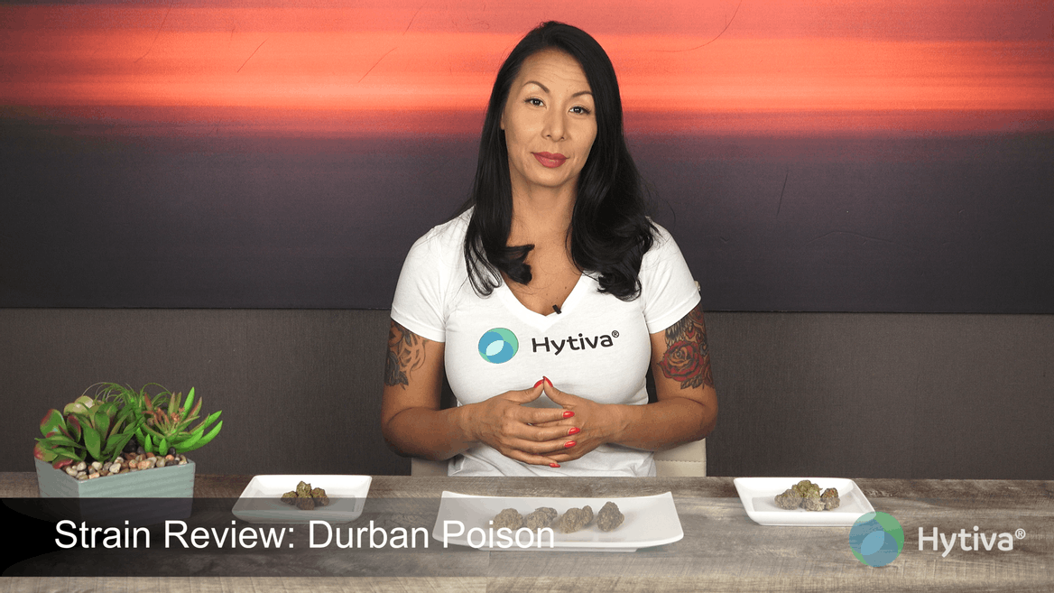 Strain review video: Durban Poison