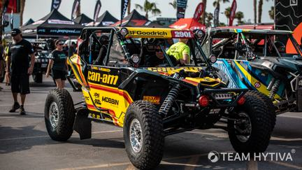 Black and Yellow 2901 Canam