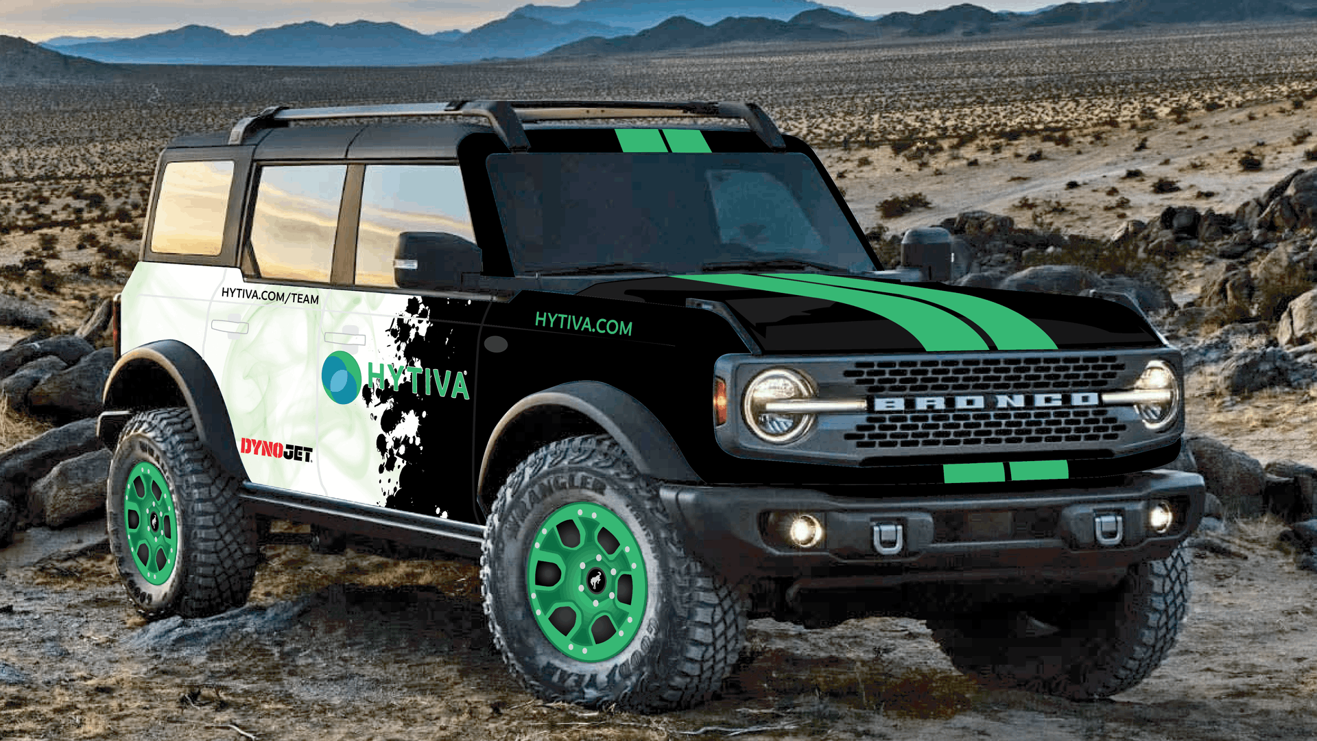 Ford Bronco Charity Build for Autism