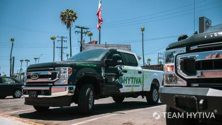 Team Hytiva® Ford F-250