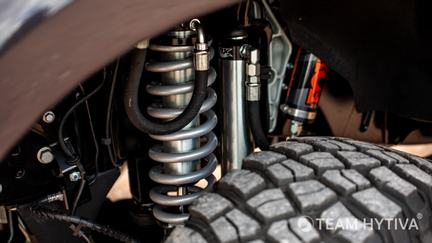 Shelby Front Coilover with FOX Shock and Reservoir