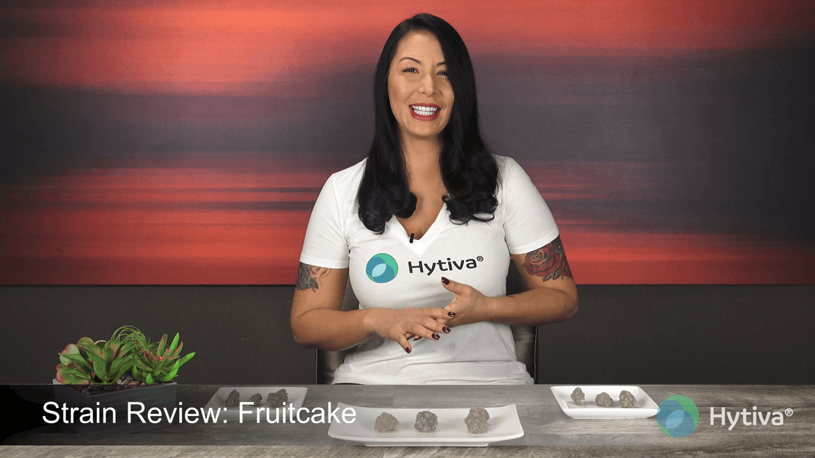 Strain Review Video: Fruitcake