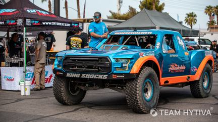 Householder Blue and Orange Trick Truck