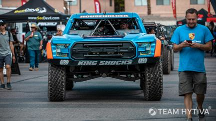 Front View of the Householder Motorsports Trick Trruck