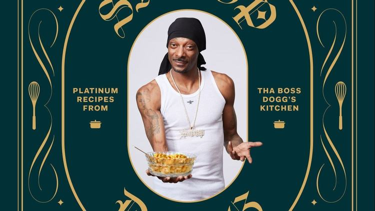 Snoop Dogg's 'From Crook to Cook' Platinum Recipes Cookbook to Release