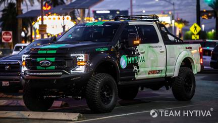 Super Baja Parked by the Welcome To Las Vegas Sign