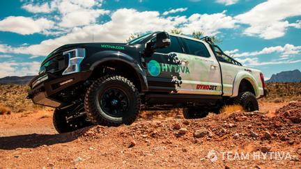 Ford's F250 Super Baja Desert Crawling
