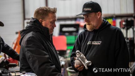 Marc Burnett and Aaron Johnston Talking