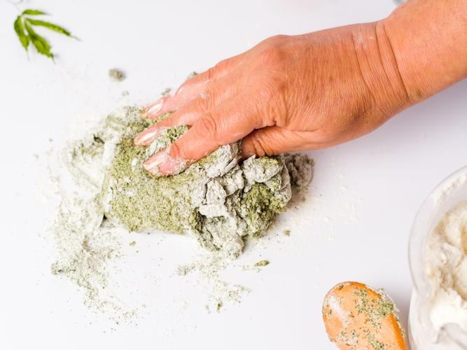 DIY: Cannabis Infused Flour
