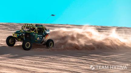 Marc Burnett UTV kicking sand up