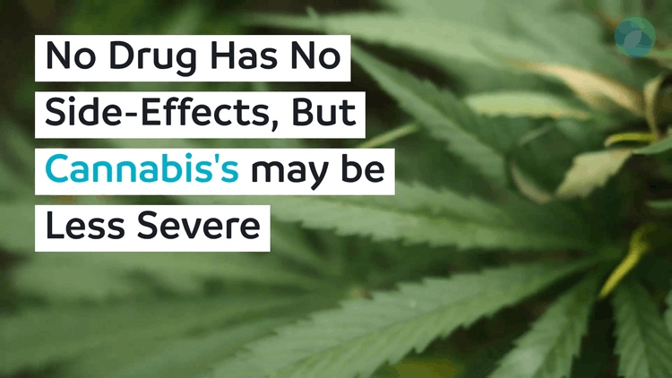 All Drugs Have Side-Effects, But Cannabis May Be Less Severe
