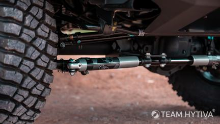 FOX Stabilizer Shocks and Front Skid Plate