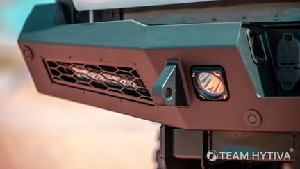 Rear Bumper LED Drive Light and Tow Point