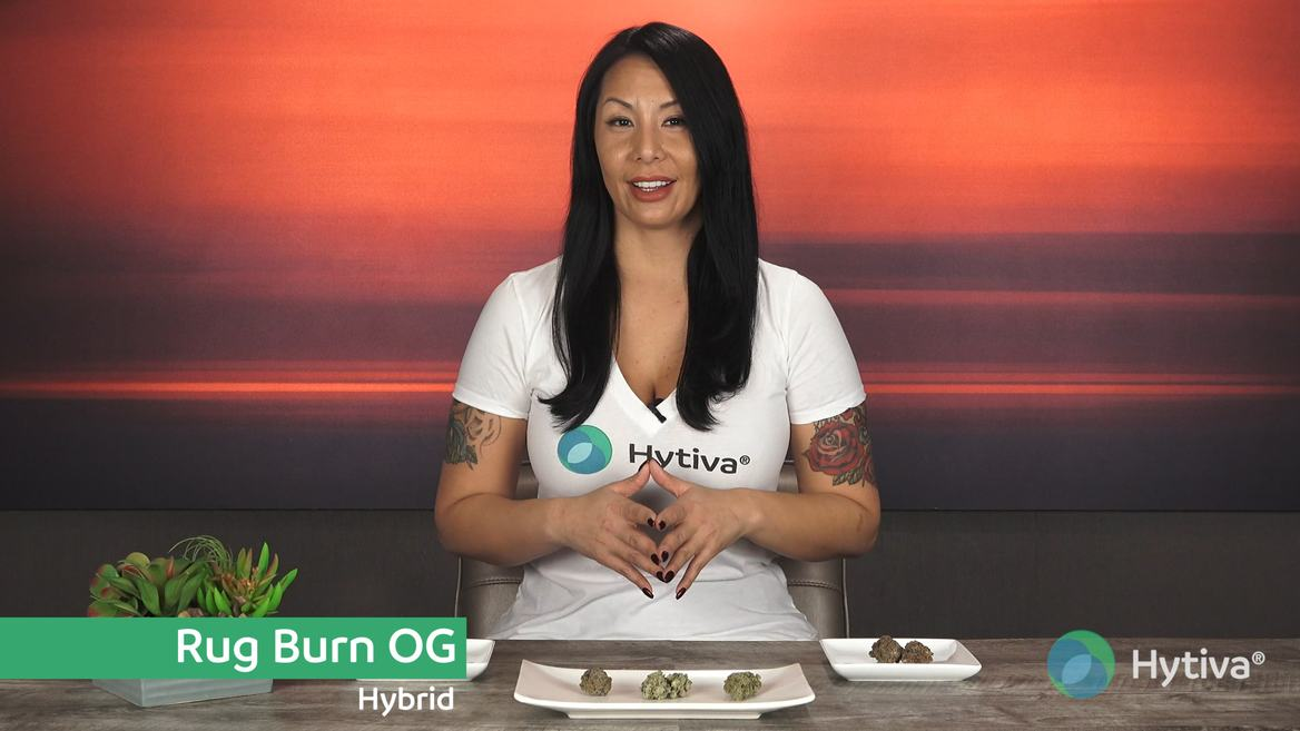 Strain review video: Rug Burn OG