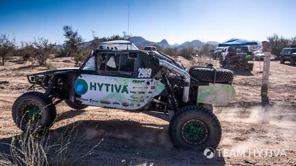 Team Hytiva® Pre-Running the San Felipe Track