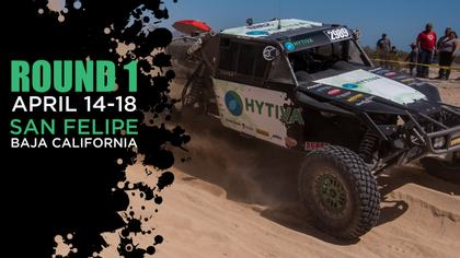 34th Annual SCORE San Felipe 250 - Hytiva Header Graphic