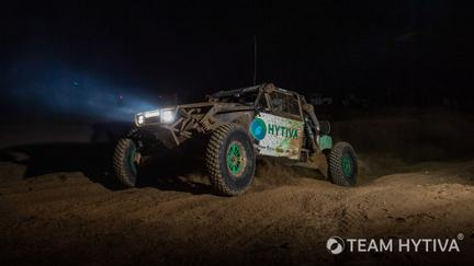 Team Hytiva® Driving Through the Night