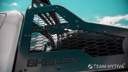 Shelby Super Baja Custom Steel Chase Rack with Tires