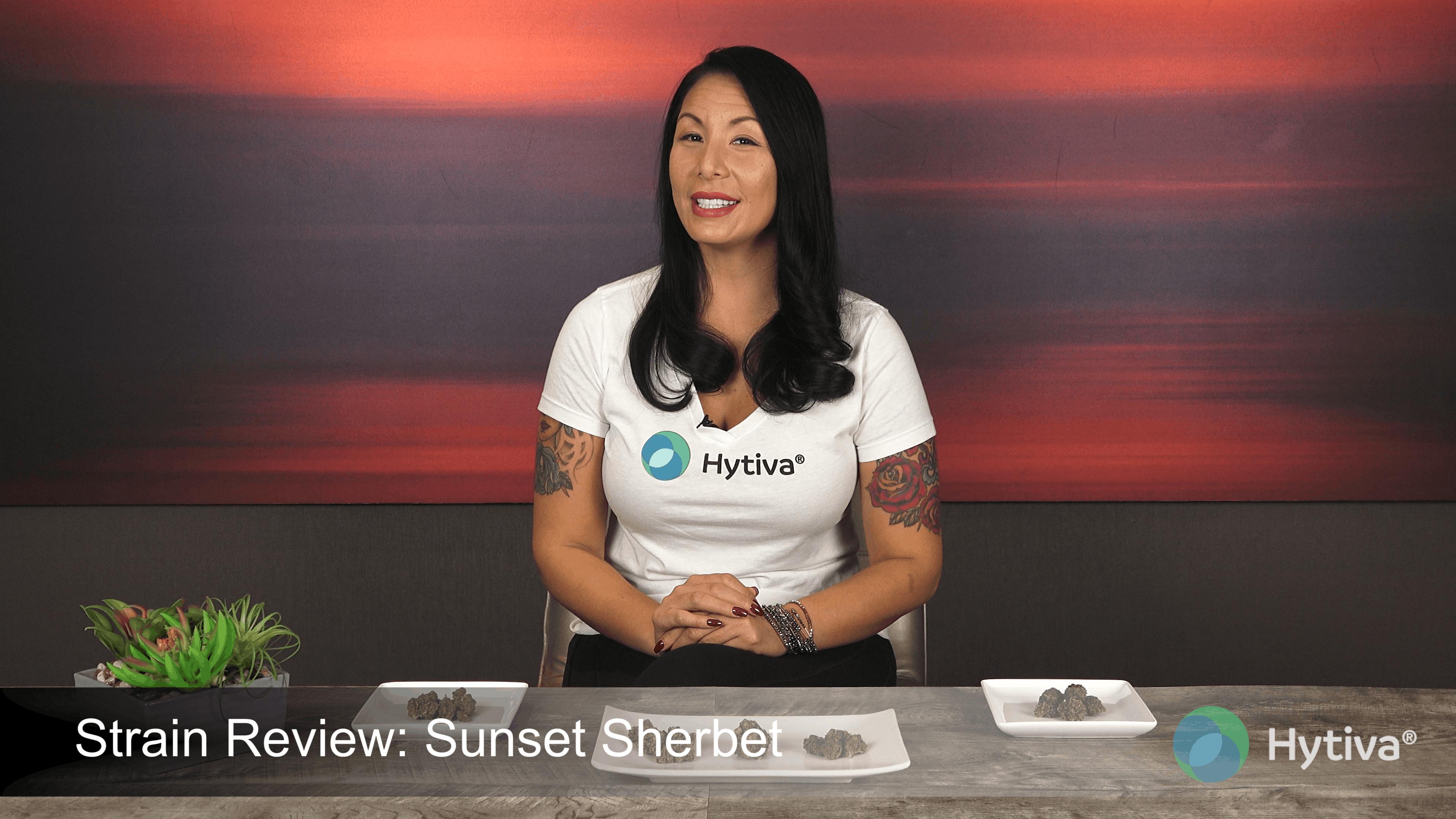 Strain Review : Sunset Sherbet