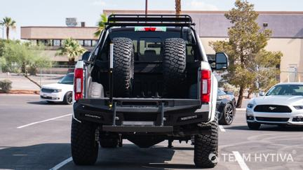 Super Baja Bed and Spare Tires