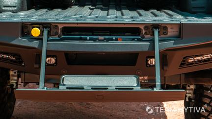 Ford's Integrated Tailgate Step