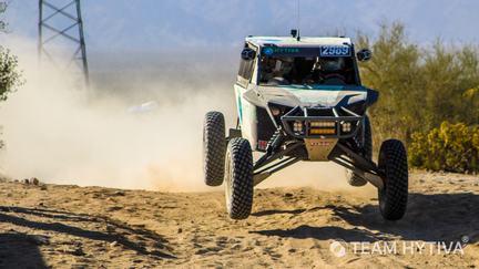 Team Hytiva's® Driver Wes Miller Full Speed
