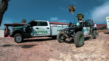 Team Hytiva® Ford F-250 and Race Vehicle