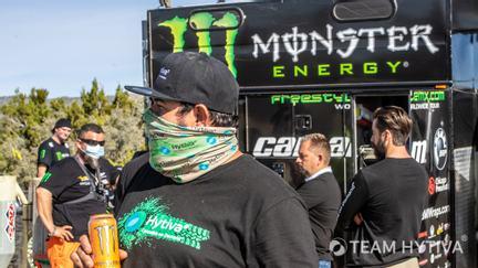 Team Hytiva Monster Energy Pit Crew