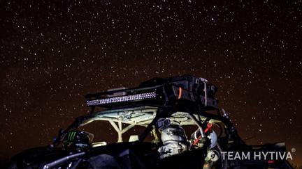 UTV Pre Runner Parked under the Starry Baja Desert Sky
