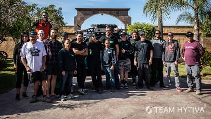 Team Hytiva and Marc Burnett Crew