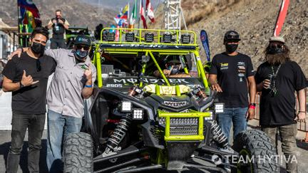 Marc Burnett Crew and Vehicle at Tech Day