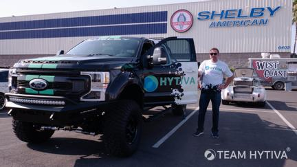 Team Hytiva Stephan Bonnar at Shelby American Cars and Coffee