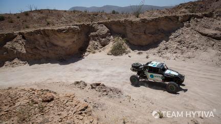 Team Hytiva® Through the Canyons