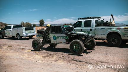 Team Hytiva® Unloading the Polaris Razor