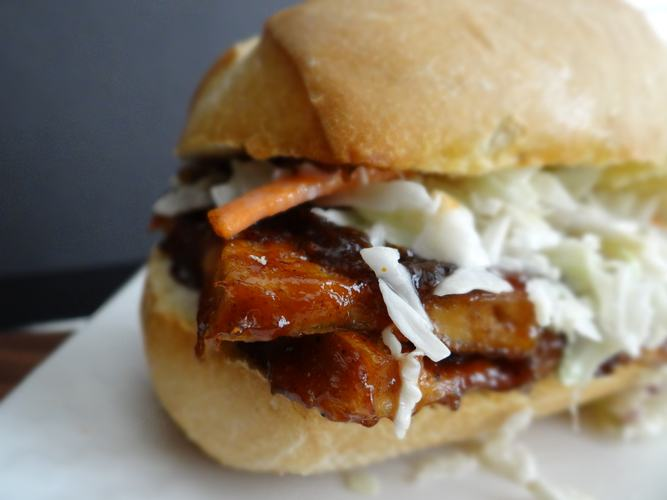 Barbeque Tofu Sandwich