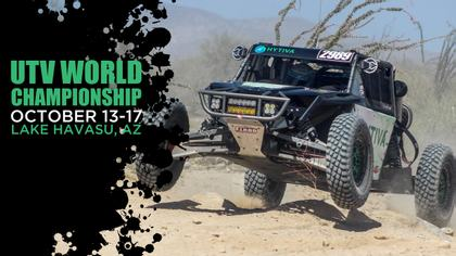 2021 UTV World Championship - Hytiva Header Graphic
