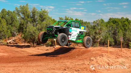 Shawn Saxton Polaris RZR Going Over Jump